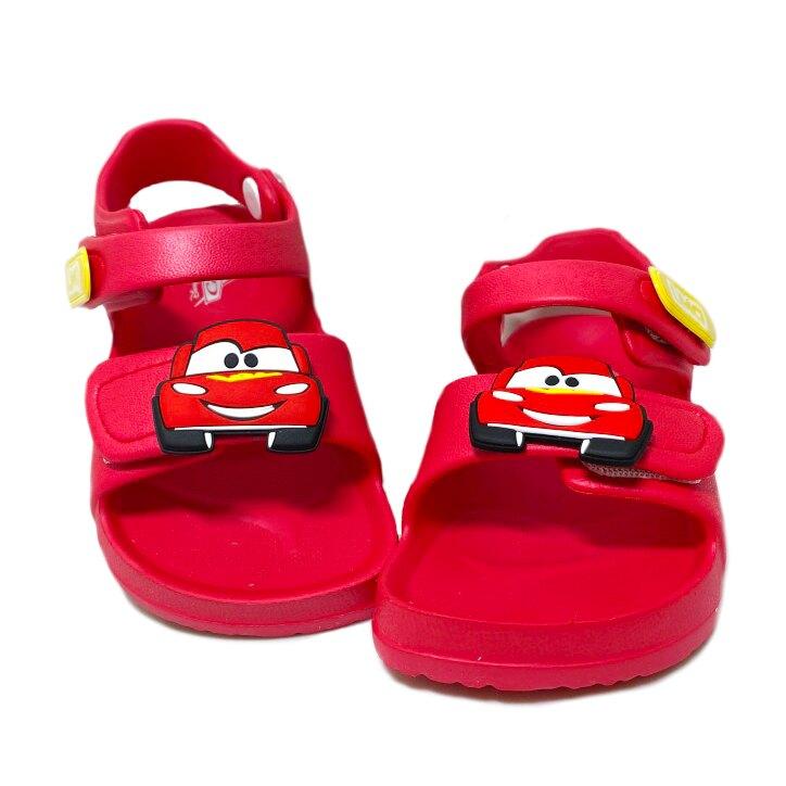 迪士尼 cars 閃電麥坤 童款防水超輕量涼鞋 [219303] 紅 MIT台灣製造【巷子屋】