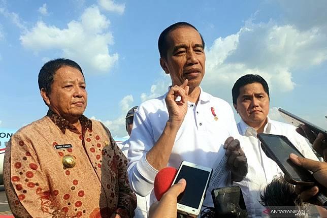 Presiden bertolak menuju Solo usai kunjungan kerja di Lampung