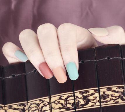 指甲油 甲油膠新色美甲店專用延禧攻略莫蘭迪色指甲油光療甲油膠套裝