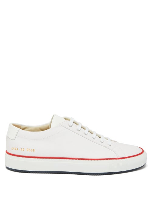 Common Projects - Common Projects' white Achilles trainers return for SS20 in a refreshing canvas re