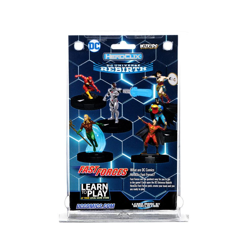 反轉英雄 DC重生 快速成軍包 DC Rebirth WIZKIDS HEROCLIX 高雄龐奇桌遊 正版桌遊專賣