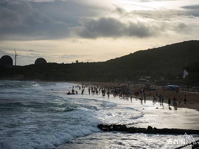 黃昏時分的南灣的另一種美。