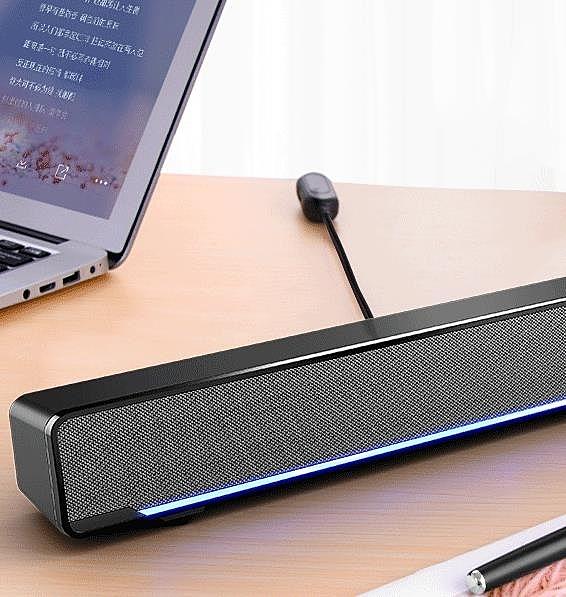 音響 電腦音響家用台式筆記本小音箱低音炮USB長條迷你多媒體有源喇叭超重低音