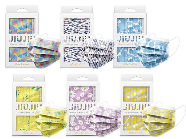 親親JIUJIU~印花三層防護口罩(10入) 光影/鼠尾草/塗鴉/樂園/泡泡/雛菊 款式可選【D210712】,還有更多的日韓美妝、海外保養品、零食都在小三美日,現在購買立即出貨給您。