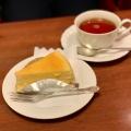ケーキセット - 実際訪問したユーザーが直接撮影して投稿した新宿喫茶店珈琲 西武の写真のメニュー情報