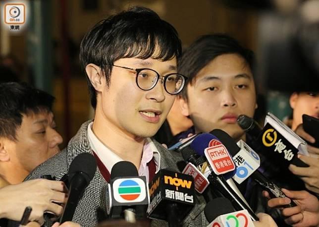 觀塘遊行發起人劉穎匡被捕。