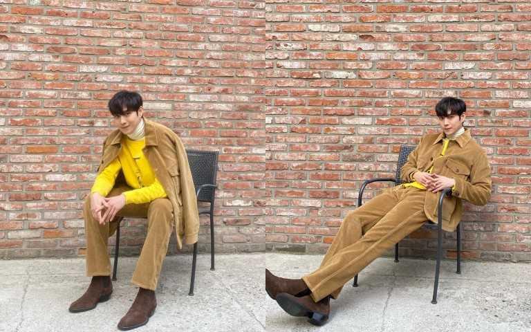 穿著一身TOD'S,觀賞 線上2022 SPRING-SUMMER MEN'S COLLECTION (圖/IG)