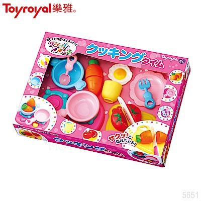 【任選】日本《樂雅 Toyroyal》創意料理-切切樂組合