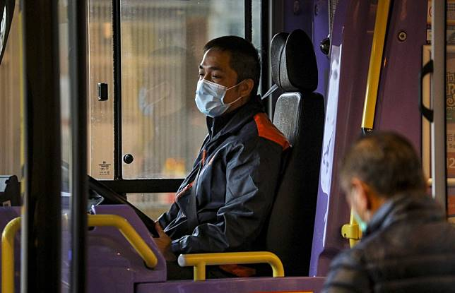 Government to give Hong Kong bus operators masks - but supply must be paid back later