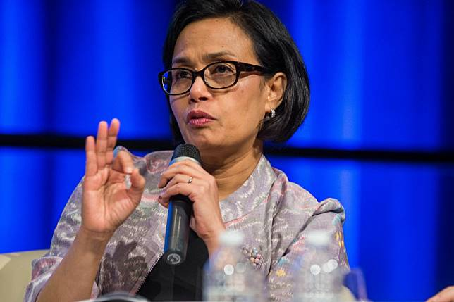 Finance Minister Sri Mulyani Indrawati.