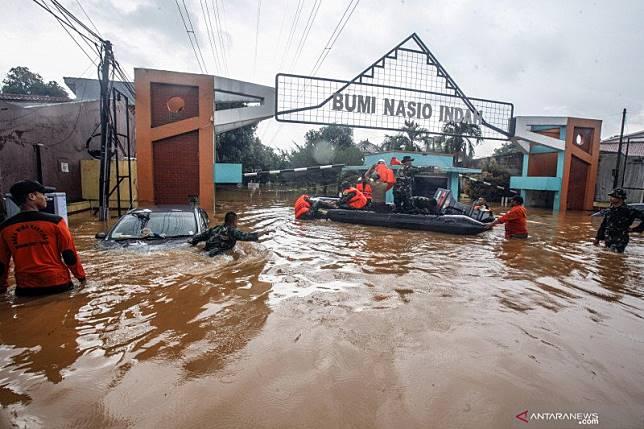 Bekasi butuh sekitar Rp4,4 triliun untuk atasi banjir