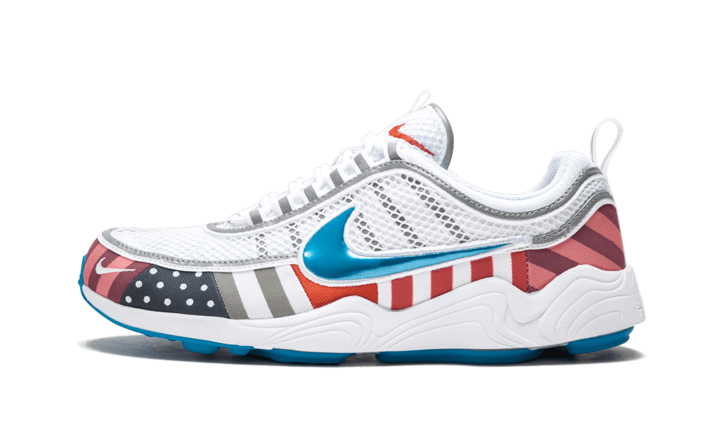 In 2018 Dutch artist Parra and Nike teamed up once again on a two sneaker pack consisting of an Air