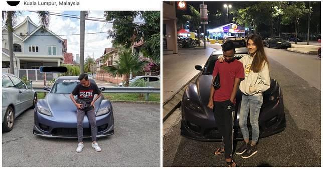 Seorang bocah asal Malaysia mendadak viral karena berfoto dengan Mazda RX-8 orang lain.