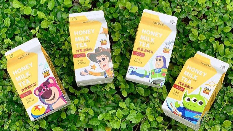 7-11小熊維尼蜂蜜牛奶推出新包裝,維尼好朋友團員版限量登場