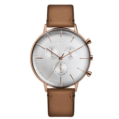 透亮凸面玻璃簡約精煉錶面設計計時功能ZM.6069M.2505