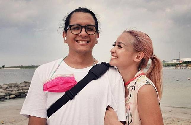 Joanna Alexandra dan suaminya, Raditya Oloan (Instagram/@joannaalexandra)