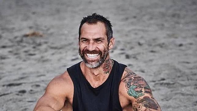 Setelah berangkat ke Jakarta dari Sydney untuk mengerjakan proyek serial TV, atlet Australia Damien Rider menyadari jika dirinya telah ditipu. (Instagram/Damien Rider)