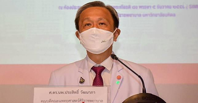 นพ.ประสิทธิ์ ยัน โควิด19 ในไทยระบาดระรอก 2 แน่ ตายมากกว่าเดิม 1 เท่า
