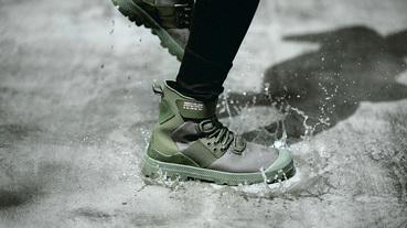 悍馬般的軍事風格防水靴 Palladium 2018 秋冬藍標系列