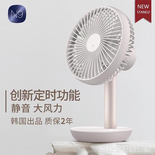 Usb風扇大風力超靜音辦公室桌上迷你便攜式小型電風扇學生 居家物语