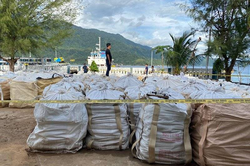 150 Ton Material Penambangan Ilegal Diamankan Polda Aceh Antaranews Com Line Today