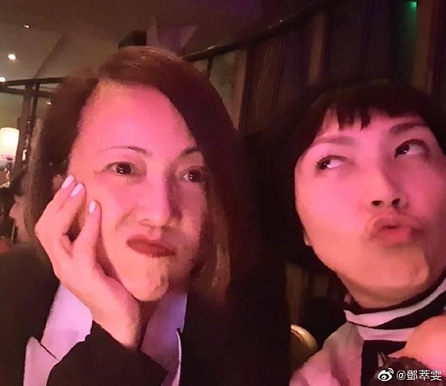 雯女(左)今次都講得好清楚,佢!鍾!意!男!人!