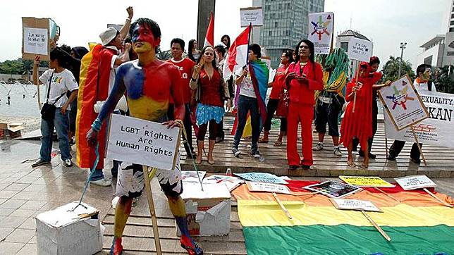 Ilustrasi LGBT. Dok. TEMPO/ Tri Handiyatno