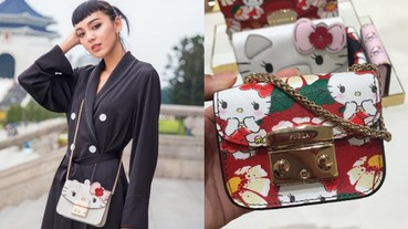 #限量販售今日開賣!FURLA X Hello Kitty 少女心徹底淪陷!多款迷你皮包、連錢包、鑰匙扣、手拿包....讓 Kitty 迷選擇病爆發...