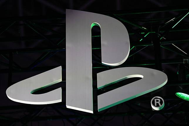 The Sony Playstation logo is seen during the Tokyo Game Show in Makuhari, Chiba Prefecture on September 12, 2019. Sony on June 1 postponed a streamed event at which it was to showcase games tailored for new-generation PlayStation 5 consoles, stepping back amid growing unrest in US cities. CHARLY TRIBALLEAU / AFP