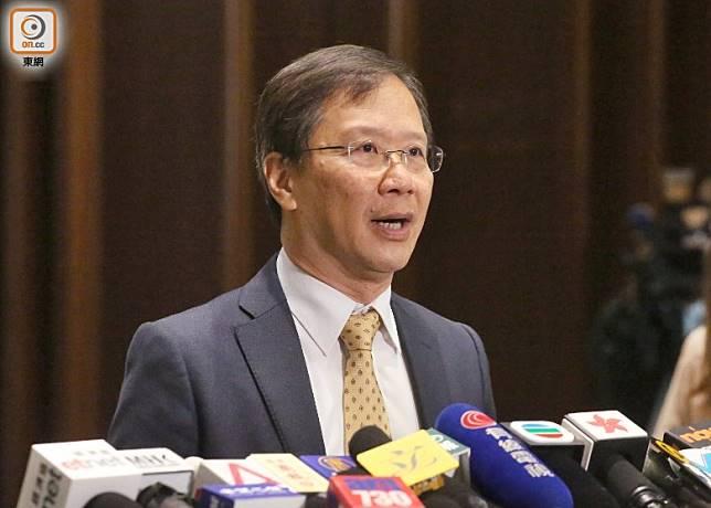 郭家麒擔心,本港久未出現禽流感個案,政府或因此變得鬆懈。