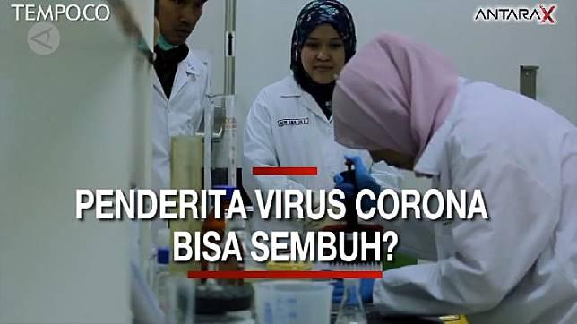 Semua virus corona, termasuk virus Corona 2019-nCoV, belum ada obatnya. Lalu apakah virus corona dapat disembuhkan? ANTARA