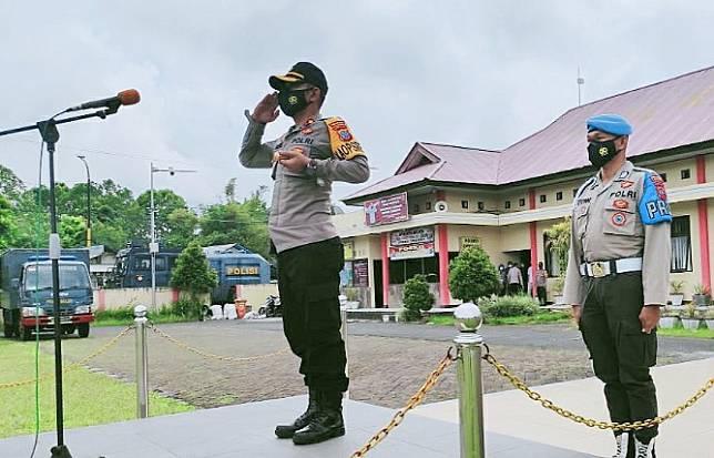 STR Kapolda Turun, Tiga Perwira Polres Tomohon Digeser