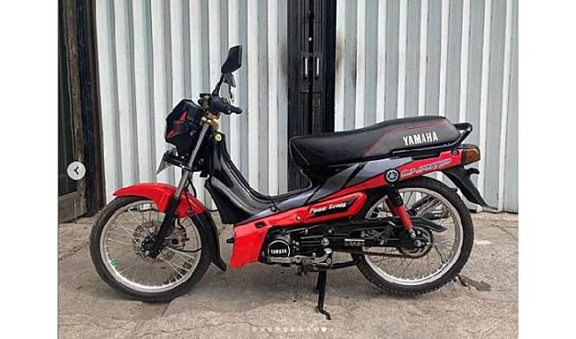 Yamaha Champ 1991 bekas dijual dengan harga Rp 15 juta. Motor dua tak legendaris ini diklaim masih dalam kondisi prima. Dok instagram @arifkingpriok