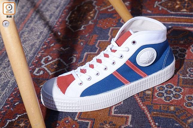 VEGANCRAFT Tri-Colour Mid Top Sneakers(胡振文攝)