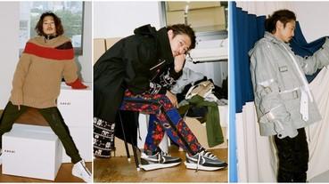 知名時尚雜誌《GEIND》再度攜手窪塚洋介,精彩詮釋「sacai」形象特輯