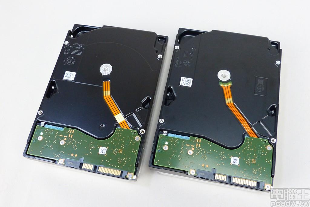▲ IronWolf 16TB、IronWolf Pro 16TB 採用小型化電路板設計,以便將內部碟盤空間最大化。
