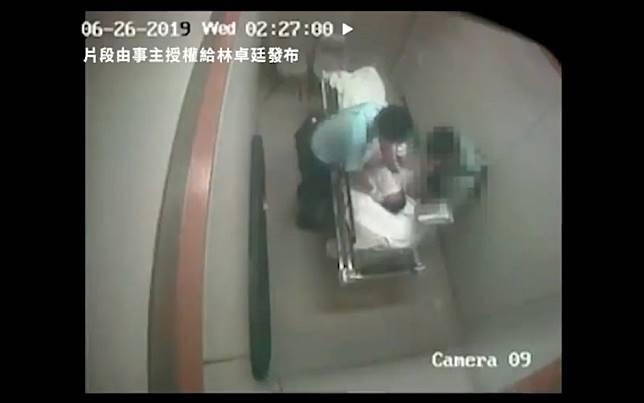 Two Hong Kong policemen arrested over assault on elderly man held for drunken behaviour