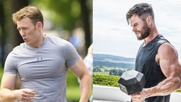 冬天也有機會秀肌肉!盤點 10 種必練健身動作,連美國隊長、雷神索爾也超愛,網友:我要練出大肌肌!