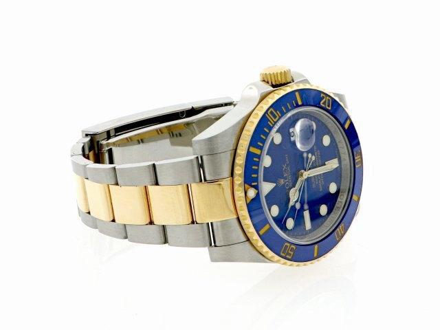 ROLEX 勞力士 Submariner 116613LB 潛航者 116613 LB 半金 藍水鬼 陶瓷框 潛水錶 商品編號:R8141