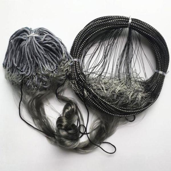 槐漁 1.8米高30米長圈網芬蘭網絲網單層捕魚網漁網繩浮繩墜網浮網