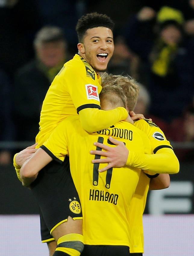 Jadon Sancho dan Erling Haaland Kembali Buktikan Diri sebagai Duo Ajaib Dortmund