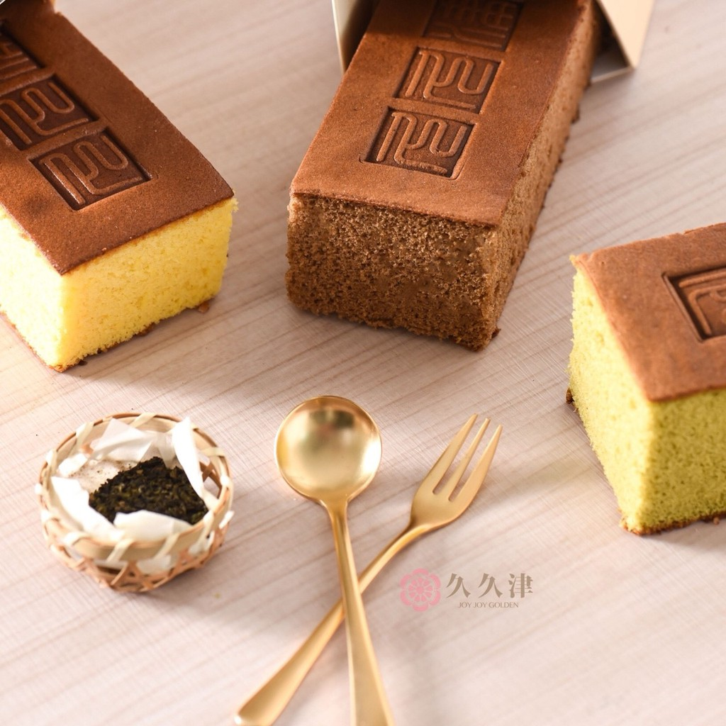 [久久津乳酪] 長崎蛋糕-台式蜂蜜
