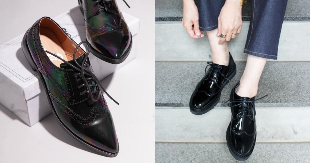 不再費心思想上班穿什麼鞋!黑色女士皮鞋就是半正式的整潔選擇