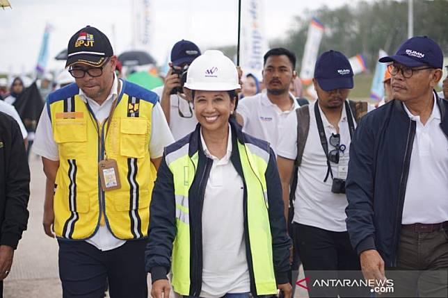 Menteri BUMN pastikan Tol Trans Sumatera siap layani mudik Lebaran