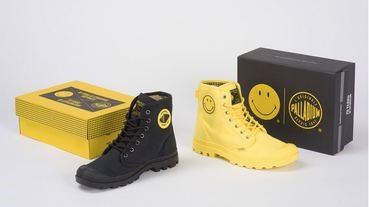 Palladium x Smiley 雙重紀念聯名鞋款登場