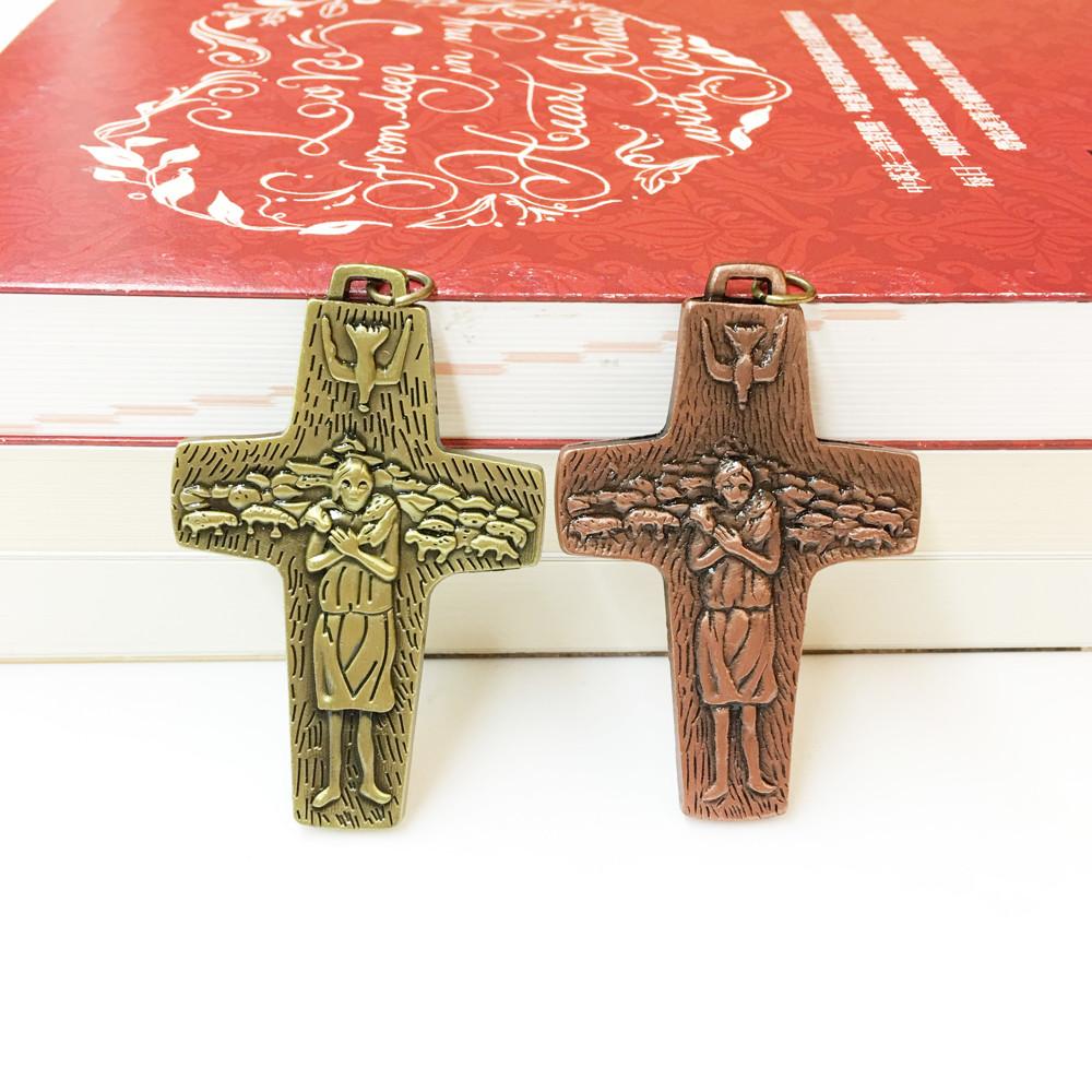 【JesusArt】天主教聖物 義大利進口 天主善牧耶穌苦難十字架