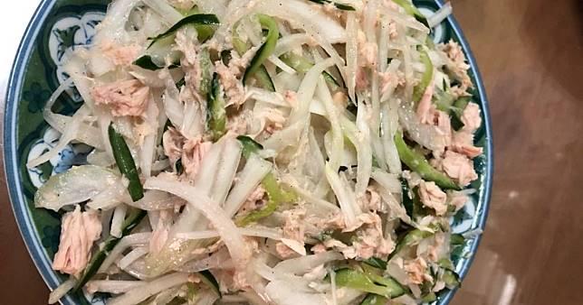 涼拌洋蔥鮪魚沙拉