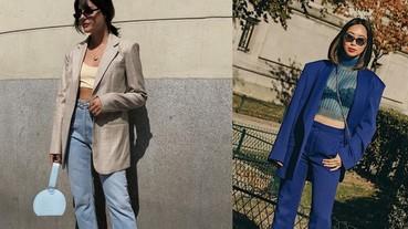 【女漢子 Girl Crush】硬派女孩今年秋冬需要一件西裝外套才夠帥!編輯解析 5 招駕馭「西裝外套」穿搭術!
