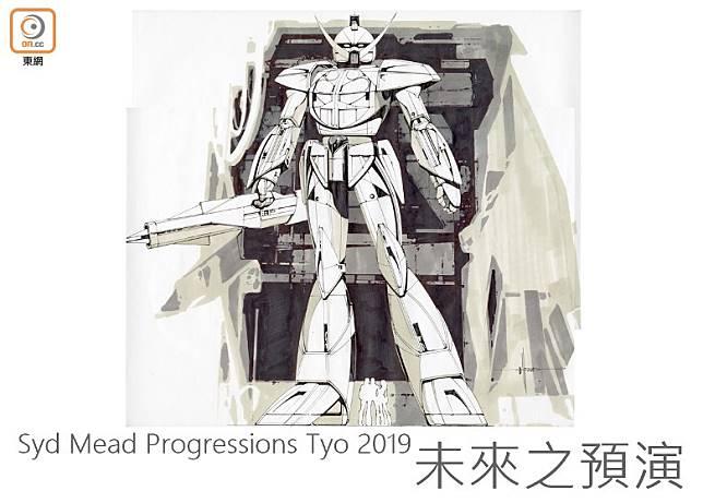 令高達迷「驚嘆」的機動戰士Turn A高達(Gundam ∀)是Syd Mead傑作之一。(互聯網)