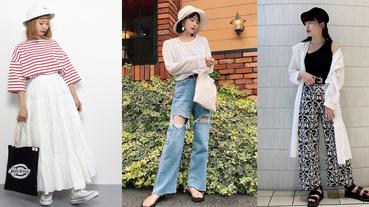 日本九月輕旅行穿搭推薦:選用漁夫帽連結輕便率性的日系Look